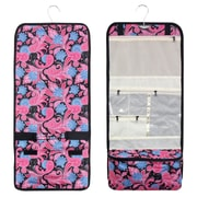 Zodaca Travel Hanging Cosmetic Carry Bag Toiletry Wash Organizer Storage - Bag Pink Paisley