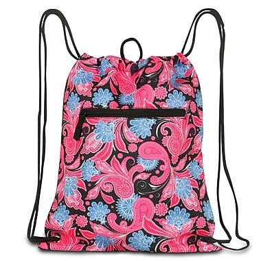 Zodaca Large Duffel Travel Bag Overnight Weekend Handbag Camping Hiking Zipper Shoulder Carry Bag - Blue Graphic