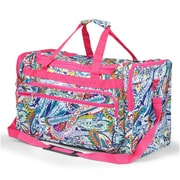 Zodaca Large Duffel Travel Bag Overnight Weekend Handbag Camping Hiking Zipper Shoulder Carry Bag - Multicolor Paisley