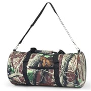 Zodaca Lightweight Classic Style Handbag Duffel Travel Camping Hiking Zipper Shoulder Carry Bag - Natural Camo