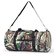 Zodaca Lightweight Classic Style Handbag Duffel Travel Camping Hiking Zipper Shoulder Carry Bag - Natural Camo