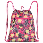 Zodaca Large Duffel Travel Bag Overnight Weekend Handbag Camping Hiking Zipper Shoulder Carry Bag - Pineapple