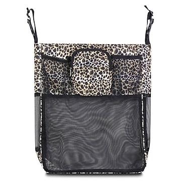 Zodaca Baby Cart Strollers Bag Buggy Pushchair Organizer Basket Storage Bag for Walk Shopping - Leopard,Size: small