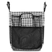Zodaca Baby Cart Strollers Bag Buggy Pushchair Organizer Basket Storage Bag for Walk Shopping - Houndtooth