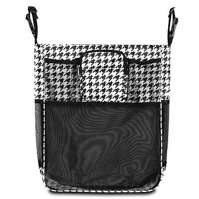 Zodaca Baby Cart Strollers Bag Buggy Pushchair Organizer Basket Storage Bag for Walk Shopping - Houndtooth