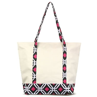 Zodaca Small Stylish Insulated Cooler Tote Bag