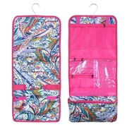 Zodaca Travel Hanging Cosmetic Carry Bag Toiletry Wash Organizer Storage - Multicolor Paisley