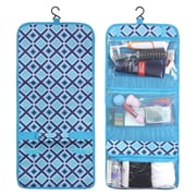 Zodaca Travel Hanging Cosmetic Toiletry Carry Bag Wash Organizer Storage - Turquoise Times Square