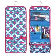 Zodaca Travel Hanging Cosmetic Carry Bag Toiletry Wash Organizer Storage - Blue Graphic