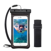 Insten Universal Underwater Waterproof Pouch Pack Bag Dry Case w/Lanyard/Armband - Black