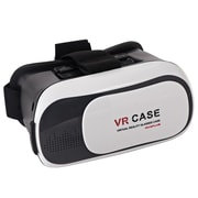 "Insten Universal 3D Virtual Reality Headset For Smartphone with 6"" Screen Display, Black (2359383)"