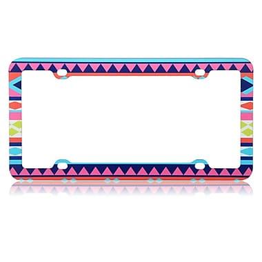 Insten Aztec Tribal Plastic License Plate Frame