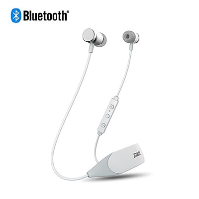 Insten Universal Rechargeable Wireless Bluetooth 4.1 Earbuds Stereo Handsfree Headset for Phones/Tablets/Laptops - White