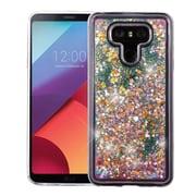 Insten Stars/Pink Quicksand Glitter Hybrid Hard PC/TPU Case Cover For LG G6