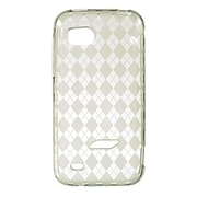 Insten Crystal TPU Rubber Candy Skin Transparent Case Cover For HTC Rezound / Vigor - Clear