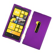 Insten Rubberized Hard Snap On Protective Case Cover For Nokia Lumia 920 - Purple