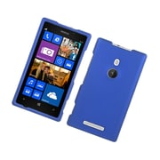 Insten Rubberized Hard Snap On Protective Case Cover For Nokia Lumia 925 - Blue