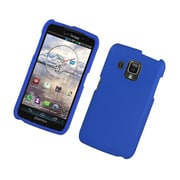 Insten Rubberized Hard Snap On Protective Case Cover For Pantech Perception - Blue