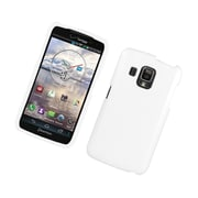 Insten Rubberized Hard Snap On Protective Case Cover For Pantech Perception - White