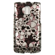 Insten Skull Hard Snap On Back Protective Case Cover For Pantech Magnus P9090 - Multi-Color