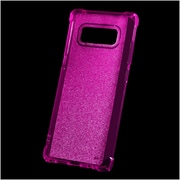 Insten Sheer Glitter Gel Case Cover For Samsung Galaxy Note 8 - Hot Pink