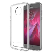 Insten Fusion Candy TPU Acrylic Hybrid Case Cover for Motorola Moto Z2 Force - Clear