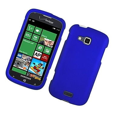 Insten Rubberized Hard Snap On Protective Case Cover For Samsung ATIV Odyssey - Blue