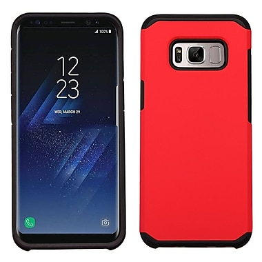 Insten Astronoot Hybrid Dual Layer Hard PC/TPU Case Cover For Samsung Galaxy S8+ S8 Plus - Red/Black