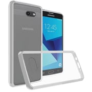 Insten Clear Ultra Slim Crystal Transparent Fused Hard PC/TPU Case Cover For Samsung Galaxy J7 (2017)