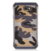 Insten Camouflage Hybrid Dual Layer PC/TPU Rubber Case Cover For Samsung Galaxy J7 (2017) - Gray