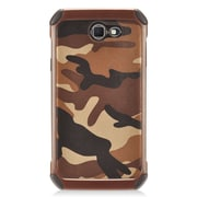 Insten Camouflage Hybrid Dual Layer PC/TPU Rubber Case Cover For Samsung Galaxy J7 (2017) - Brown