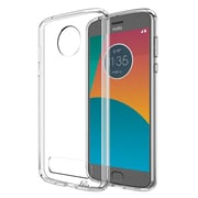 Insten Fusion Candy TPU Acrylic Hybrid Case Cover for Motorola Moto Z2 Play - Clear