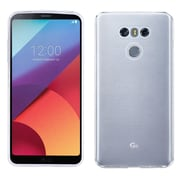 Insten Transparent TPU Candy Skin Rubber Gel Case Cover For LG G6 - Clear