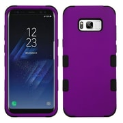 Insten TUFF Shock Absorbing Hybrid PC/TPU Dual Layer Case For Samsung Galaxy S8+ S8 Plus - Purple