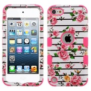 Insten Tuff Fresh Roses Dual Layer Hybrid PC/TPU Rubber Case Cover for Apple iPod Touch 5th Gen/6th Gen