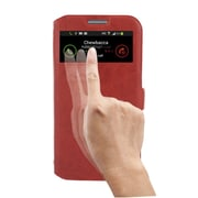 Insten Smart Cover Leather Flip Case with Sleepmode Call For Samsung Galaxy S4