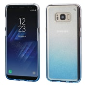 Insten Gradient Sheer Glitter Premium TPU Candy Skin Case For Samsung Galaxy S8+ S8 Plus - Blue
