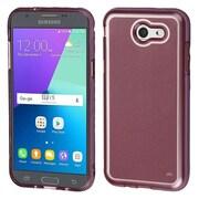 Insten Premium TPU Rubber Back Shell Case For Galaxy Amp Prime 2/Express Prime 2/J3 (2017)/J3 Prime - Rose Gold