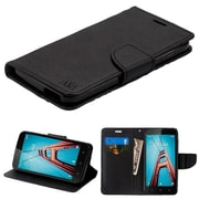 Insten Stand Book-Style Leather [Card Holder Slot] Wallet Pouch Case Cover For Coolpad Defiant - Black