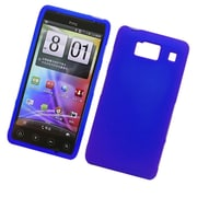 Insten Hard Snap On Back Rubber Protective Case Cover For Motorola Droid Razr HD XT926 - Blue