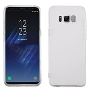 Insten Transparent Clear Gummy Lite TPU Rubber Case For Samsung Galaxy S8+ S8 Plus - Clear