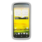 Insten SIlicone Skin Back Soft Rubber Gel Case Cover For HTC One S - Clear