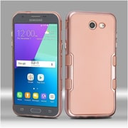 Insten Metallic Rose Gold TUFF Panoview Hybrid Case For Galaxy Amp Prime 2/Express Prime 2/J3 (2017) - Rose Gold