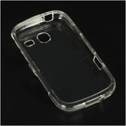 Insten Crystal Hard Snap On Protective Back Shell Case Cover For Samsung Freeform III R380 - Clear