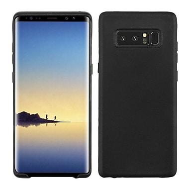 Insten TPU Rubber Skin Case Cover for Samsung Galaxy Note 8 - Black