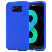 Insten Rugged Rubber Silicone Skin Gel Soft Case Cover For Samsung Galaxy S8+ S8 Plus - Blue