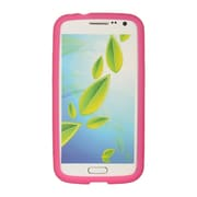 Insten SIlicone Skin Back Soft Rubber Gel Case Cover For Samsung Galaxy Premier - Hot Pink