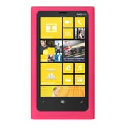 Insten SIlicone Skin Back Soft Rubber Gel Case Cover For Nokia Lumia 920 - Hot Pink