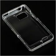 Insten Crystal Hard Snap On Protective Back Shell Case Cover For Motorola Droid Bionic XT875 - Clear