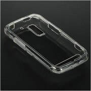 Insten Crystal Hard Snap On Protective Back Shell Case Cover For Motorola Photon 4G - Clear